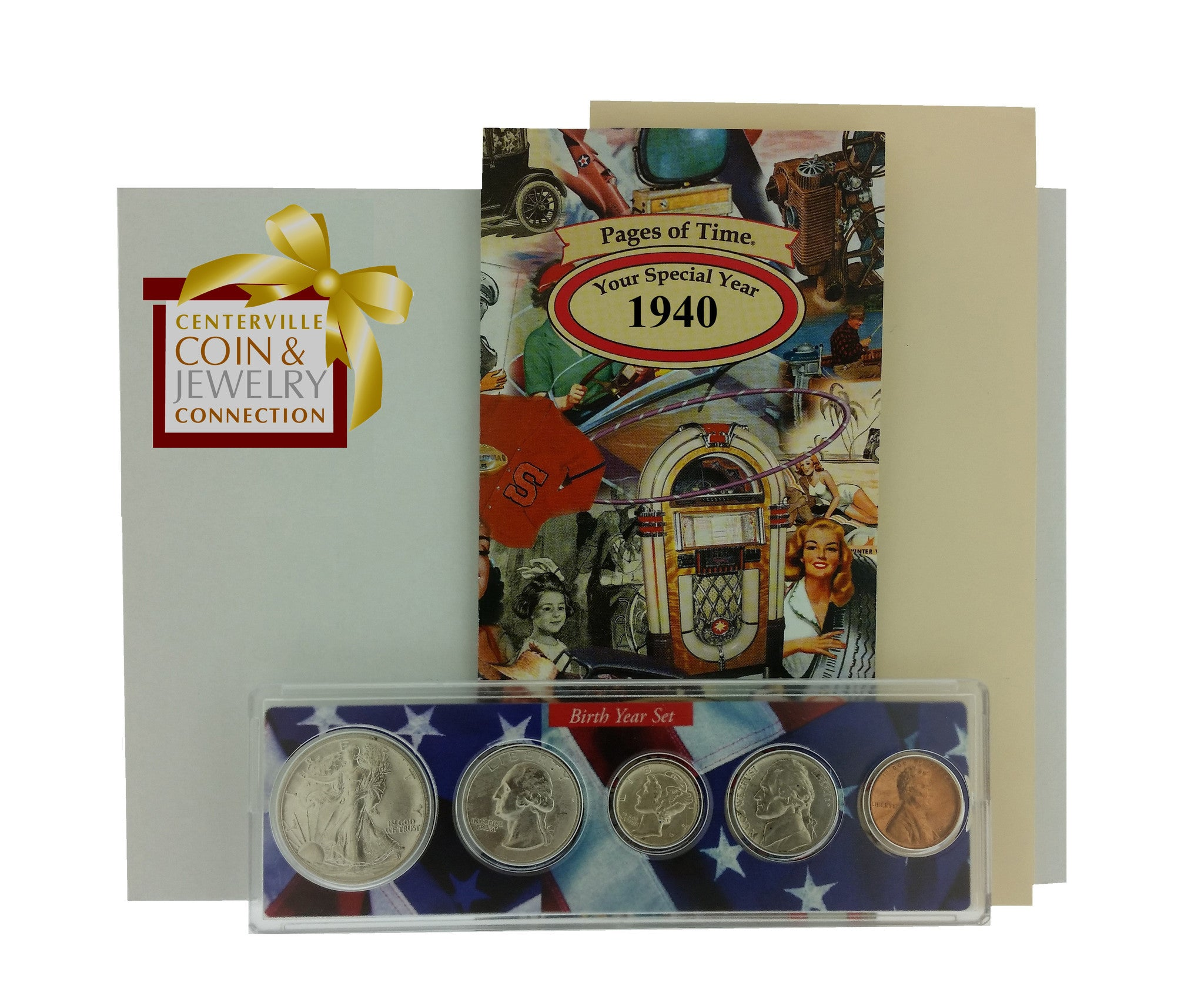 Year Coin Set & Greeting Card - Pi Style Boutique - Pi Style - Gifts & Decor - 1