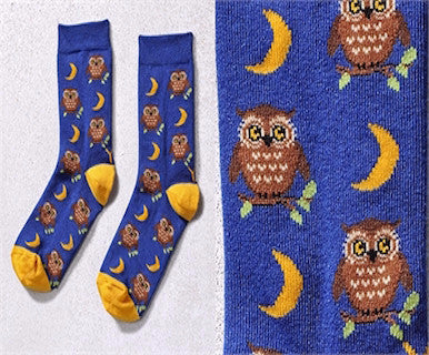 Night Owl - Womens YoSox - Pi Style Boutique - Giftcraft - Accessories