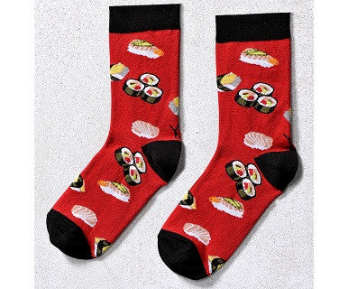 Women's Crew Socks Yo Sox - Sushi - Pi Style Boutique - Giftcraft - Accessories