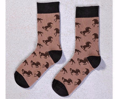 Mustang - Women's Crew YoSox - Pi Style Boutique - Giftcraft - Accessories
