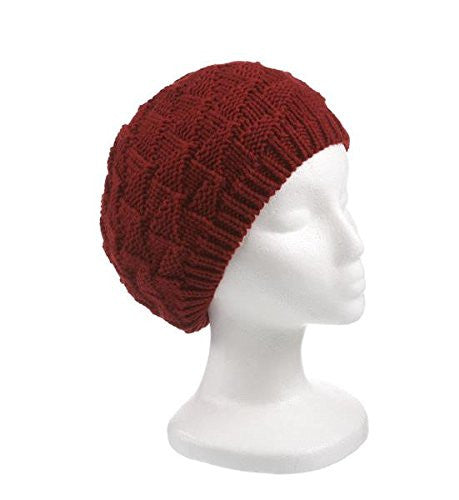 Knitted Ruffle Hat - Pi Style Boutique - Ganz - Accessories