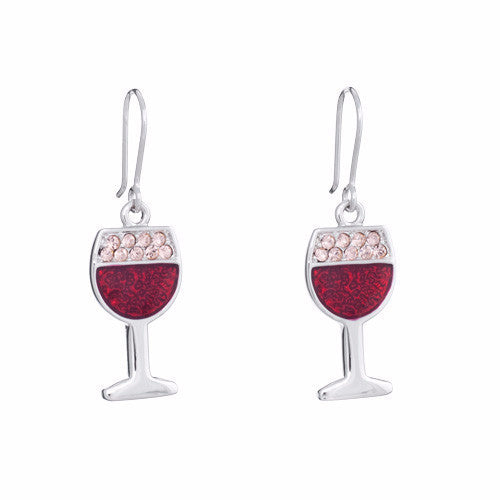 Annaleece Earrings Merlot - Pi Style Boutique - Annaleece