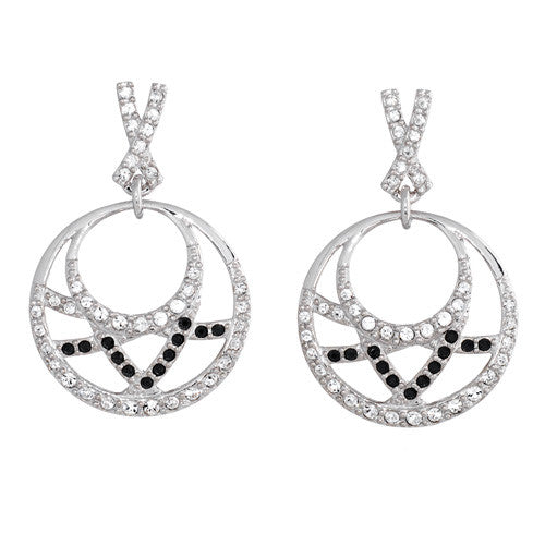 Crystal Moon Earrings - Pi Style Boutique - Annaleece