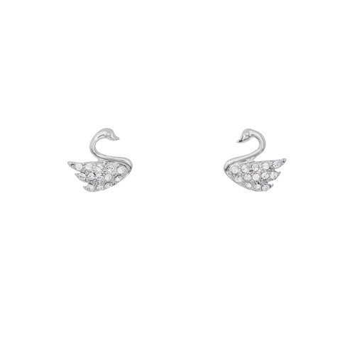 Annaleece Earrings Petite Swan - Pi Style Boutique - Annaleece