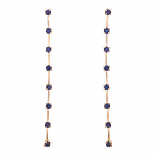 Indigo - Annaleece Earrings - Pi Style Boutique - Annaleece - Accessories
