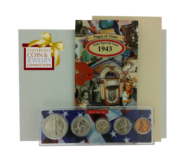 Year Coin Set & Greeting Card - Pi Style Boutique - Pi Style - Gifts & Decor - 4