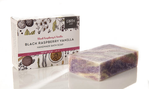 Black Raspberry Vanilla - Earth Luxe Bath Soap