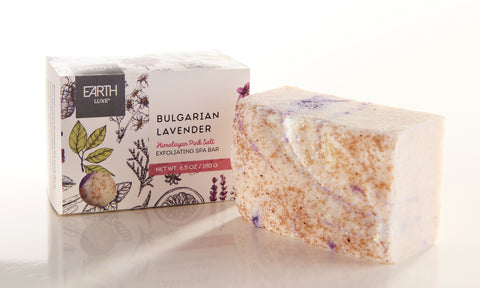 Bulgarian Lavender - Earth Luxe Exfoliating Spa Bar