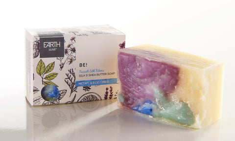 Beautiful - Earth Luxe Silk & Shea Butter Soap