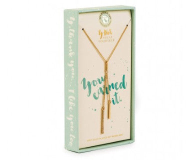 You earned It - Y Not Spartina 449 Necklace