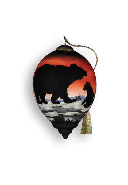Bear Cub Silhouette - Pi Style Boutique - Precious Moments
