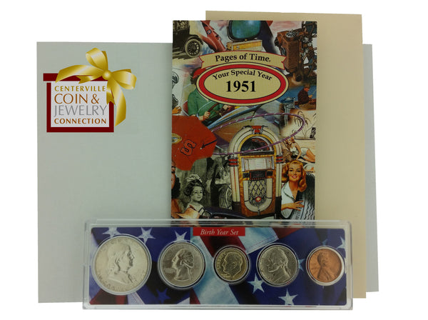 Year Coin Set & Greeting Card - Pi Style Boutique - Pi Style - Gifts & Decor - 12