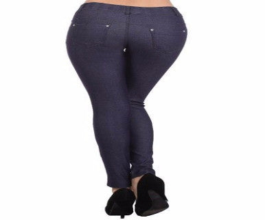 Curvy Girl - Jeggings - Pi Style Boutique - Accent Accessories - Clothing - 1