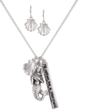 Mermaid wishes - Necklace