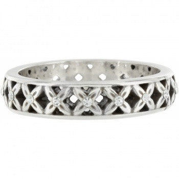 """Macrame"" (Silver) - Brighton ring - Pi Style Boutique - Brighton"