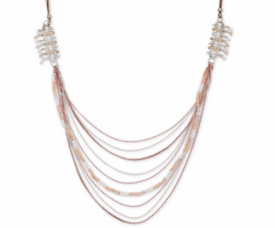 Whispers - Layered  Necklace - Pi Style Boutique - Howard's