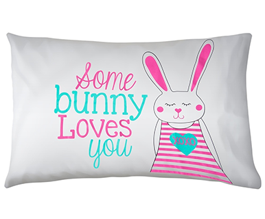 Bunny Loves You - Pillow Talk Case