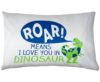 Dinosaur - Pillow Talk Case