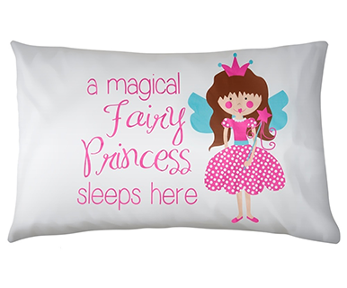 Fairy Princess - Pillow Talk Case