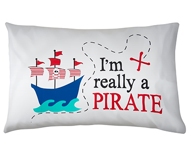 Really A Pirate - Pillow Talk Case