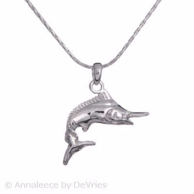 Marlin Sea Treasures Necklace - Pi Style Boutique - Annaleece