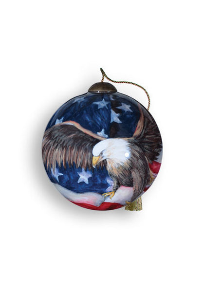 God Bless America Ornament - Pi Style Boutique - Precious Moments