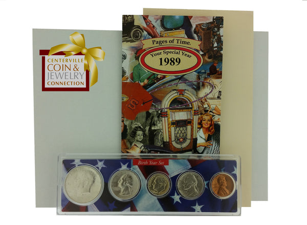 Year Coin Set & Greeting Card - Pi Style Boutique - Pi Style - Gifts & Decor - 50