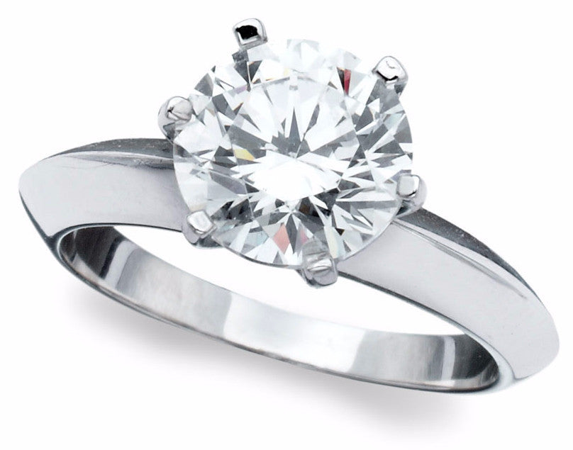 2 carat Solitaire Ring - Pi Style Boutique - Crislu