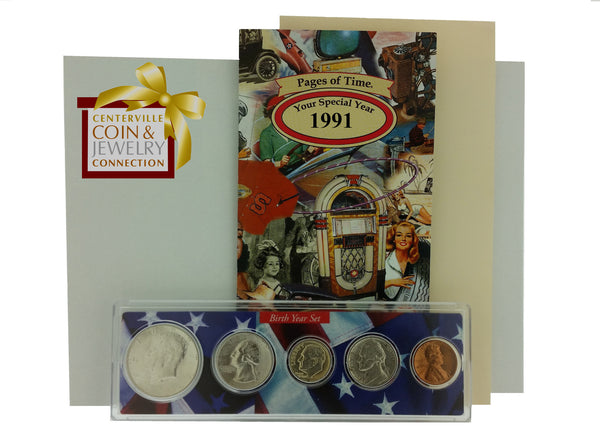 Year Coin Set & Greeting Card - Pi Style Boutique - Pi Style - Gifts & Decor - 52