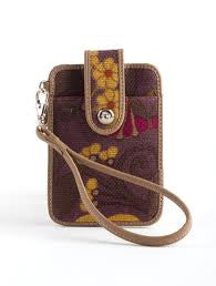 Sarah Slim Phone Wristlet - Pi Style Boutique - Spartina