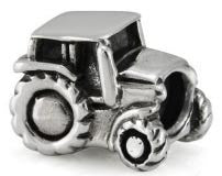 Sterling silver tractor charm. click for more information