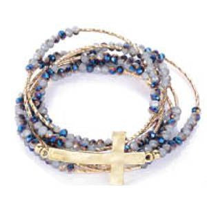 Sideway Faith - Wrap Bracelet (FINAL SALE)