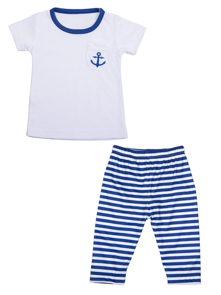 Nautical  T-Shirt and Pants Set (FINAL SALE)