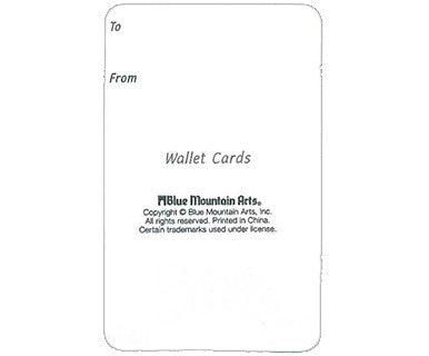 Pep Talk - Wallet Card