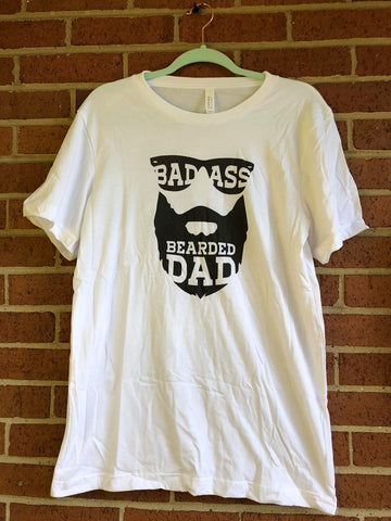 Badass Bearded Dad - Graphic Tee