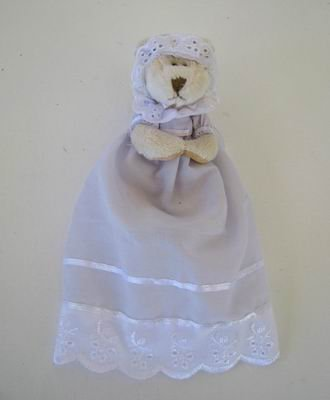 Christening Day - Bear in Gown