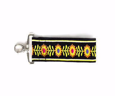 Stephanie Dawn Key Wristlet - Bloom Dance - Pi Style Boutique - Stephanie Dawn