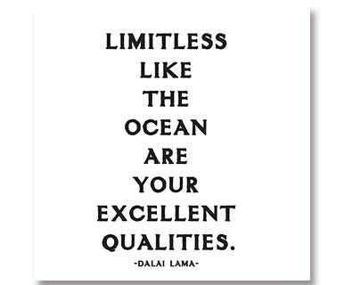 Limitless Like The Ocean Are Your Excellent Qualities - Quotable