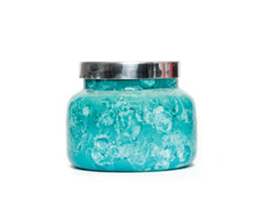 Volcano - Capri Blue Watercolor Jar