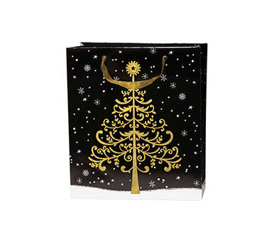 Golden Tree - Embellished Gift Bag