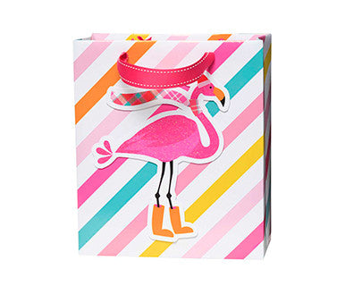 Flamingo - Embellished Gift Bag