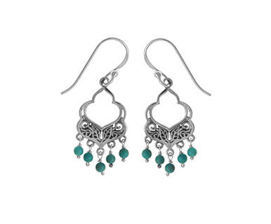 Dgl Earring/Tq - Pi Style Boutique - Boma Jewelry - Accessories