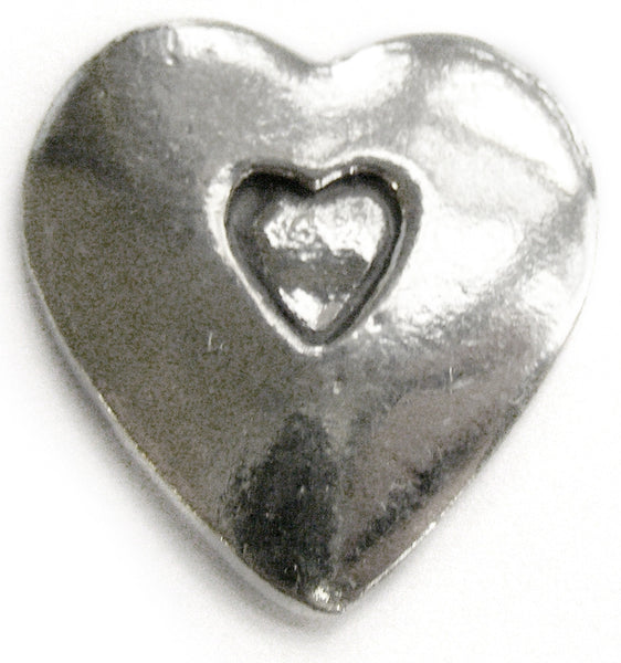 Basic Spirit Heart shape / Open your heart Pocket Token - Pi Style Boutique - Basic Spirit