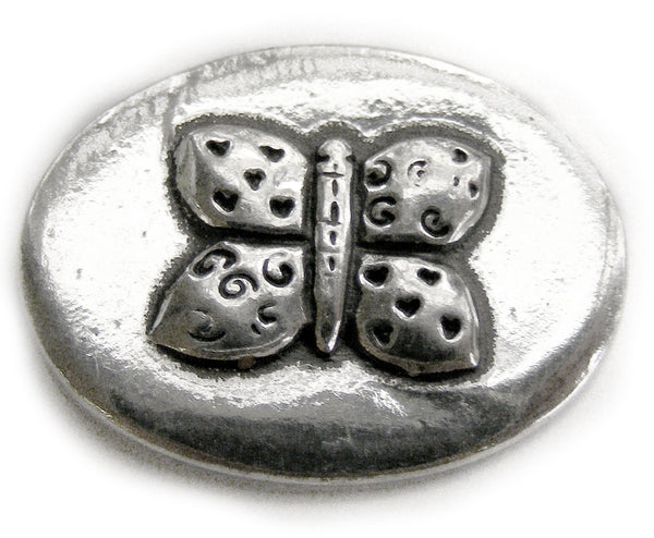 Basic Spirit Butterfly / Friends Pocket Token - Pi Style Boutique - Basic Spirit