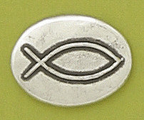 Basic Spirit Fish / Christian Symbol Pocket Token - Pi Style Boutique - Basic Spirit