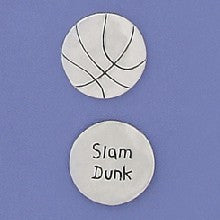 Basic Spirit Slam Dunk/ Basketball Pocket Token - Pi Style Boutique - Basic Spirit