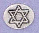 Basic Spirit Star of David / To Life Pocket Token - Pi Style Boutique - Basic Spirit