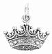 Charm Silver Crown - Pi Style Boutique - Beaucoup