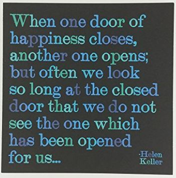 When One Door... - Quotable Card