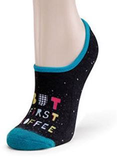 But First Coffee - Soul to Sole Footie Socks